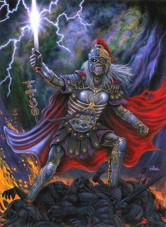 Iron Maiden - Gladiator Eddie.