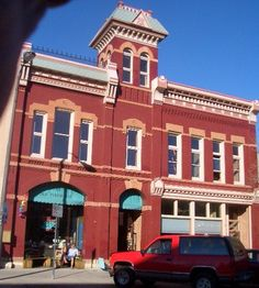 Fire Station, Fort Collins, Colorado. Disneyland's Main St. was patterned after Fort Collins.