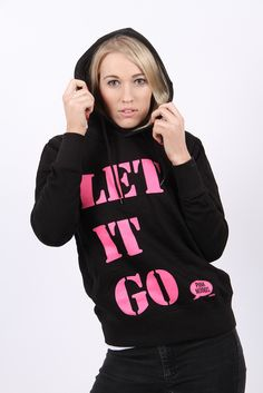 Let it go! There is magic in letting go and feeling free so allow yourself to relax and just be. If you want a bit of support in letting go of stored up worries, then why not watch one of our Video Moods series or book an appointment with one of our life coaches who can help to guide you on your way. Hoodies for women Our black let it go hoodies for women are proving popular already! This organic pullover hoodie is made from organic cotton. £27.99