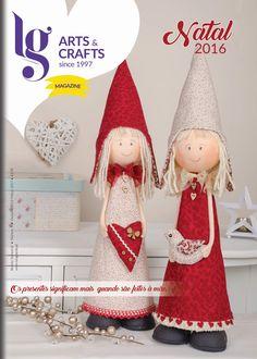 LG Arts & Crafts Magazine é uma revista de Artes Decorativas, onde pode ver muita ideias para os seus trabalhos manuais e até alguns passo a passo.