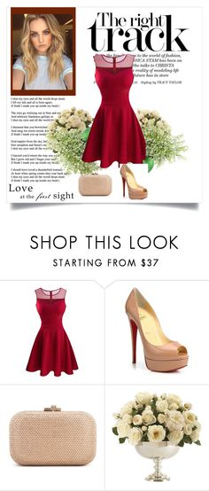 """""""Untitled #2"""" by eminajamakovic ❤ liked on Polyvore featuring Christian Louboutin, Judith Leiber and Ethan Allen"""
