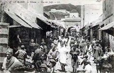 Jews street of Tetouan East Africa, Photos Du, Old Pictures, Old Town, Middle East, Oriental, The Past, Street View, City