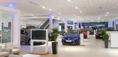 Off-site precast concrete for VW dealership by PCE