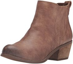 Not Rated Women's Vixeny Ankle Bootie, Tan, 8.5 M US Not…