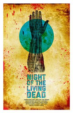 Fan made poster for Night of the Living Dead