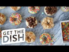 How to Make Cereal Milk Doughnuts | Get the Dish - YouTube