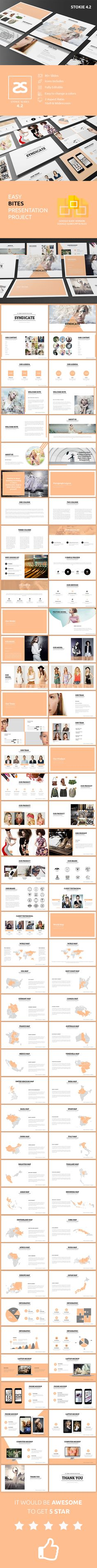 Fashion Google Slide Template 4.2 - Google Slides Presentation Templates