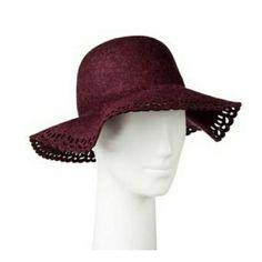4b9518498e184 Women S Boho Wool Laser Cut Floppy Hat