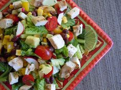 Mexican Chopped Salad Recipe and Whole Foods Shopping » Nutmeg Notebook