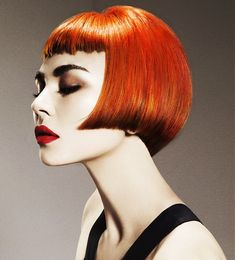 Saco Short Red Hairstyles