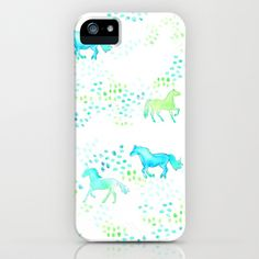 Horse of Many Colors iPhone & iPod Case