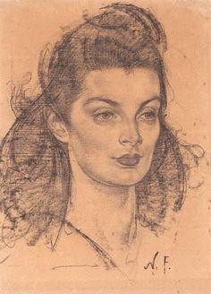 Nicolai Fechin, Portrait of Ellen