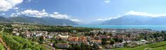 Panorama de Corsier sur Vevey by MB*photo, via Flickr