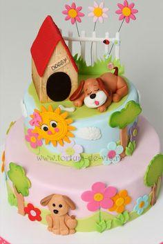 Torturi - Viorica's cakes: Catel pentru Miruna
