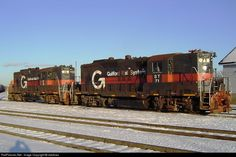 RailPictures.Net Photo: ST 71 Guilford Rail System EMD GP9 at Waterville, Maine by cbellows