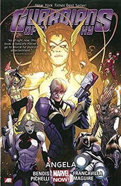 Guardians of the Galaxy Volume 2: Angela (Marvel Now) by Brian Michael Bendis http://www.amazon.com/dp/0785166084/ref=cm_sw_r_pi_dp_baCrvb1050E1A