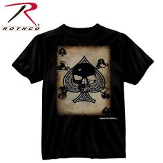 Rothco Black Ink 'Death Card' T-ShirtOnly $13.99*Price subject to change without notice.