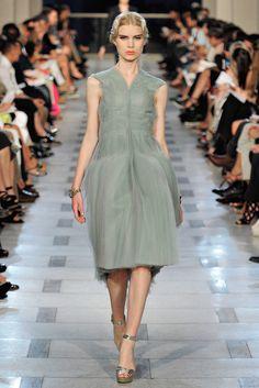 Zac Posen Spring 2012 Ready-to-Wear Fashion Show - Coco Rocha