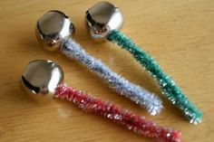 These hand-made jingle bells from Marie at MakeandTakes.com were so fun to make with the kids! And easy for little ones. Jingle Bell Crafts, Jingle Bells, Christmas Bells, Christmas Holidays, Christmas Ideas, Christmas Program, German Christmas, Christmas Music, Happy Holidays