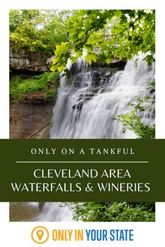 If you're in Northern Ohio between Cleveland and Canton, this is the day trip for you! Enjoy a mini road trip adventure to one of the best wineries in the area and beautiful Brandywine Falls. Road Trip Adventure, Adventure Awaits, Day Trips In Ohio, Brandywine Falls, The Buckeye State, Park Service, Haunted Places, Rv Life, Wineries