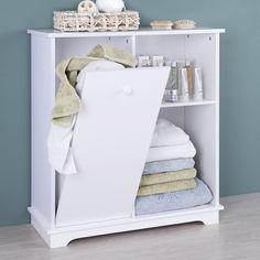 1000 id es sur commode de panier de linge sur pinterest - Meuble salle de bain avec panier a linge integre ...