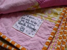 Great post on how to make different kinds of labels for homemade sewing projects..