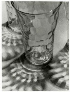 Glasses and Reflections by Consuelo Kanaga, 1948
