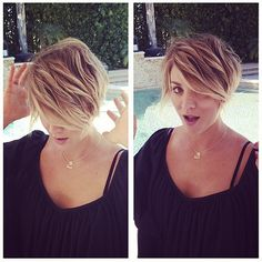 Kaley Cuoco Chops Off MORE Hair, Debuts Pixie Cut: Love It or Hate It? - The Hollywood Gossip