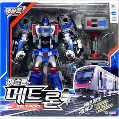 Tobot Athlon Metron Transformer Transforming Metro Trains Robot Car Toy 2017 for sale online Toy Packaging, Weekend Crafts, My Buddy, Incredible Hulk, Aviation Art, Animation Character, Transformers, Robot, Korea