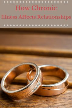Don't miss this marriage advice worth listening to. Chronic illness is becoming something that many marriages are having to deal with. Find out how to deal with this life issue.