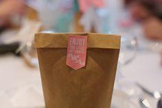 Ann und Wojteks DIY-Hochzeit von Ashley Ludaescher Photography. Paper goods designed by Pretty in Print.