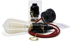Zangra Lighting | zigzag red black