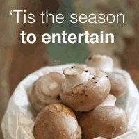 Mushrooms - Fresh and Cultivated Tis The Season, Stuffed Mushrooms, Fresh, Vegetables, Recipes, Food, Veggies, Rezepte, Essen