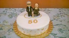 Tarta 50 aniversario bodas