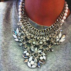 Satement necklace //