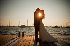 wedding photography on a dock - Cause I want to get married out at sea anyways(:
