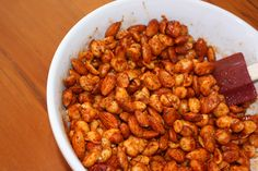 Chile Lime Roasted Nuts