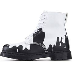 Dr. Martens for Women Paint Splat Pascal Boots | FREE SHIPPING On Orders Over $50 | Tilted Sole