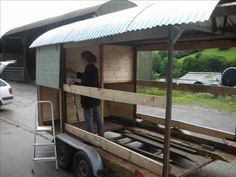 An intriguing video slideshow which charts the building of a mobile forge with a shepherd's hut