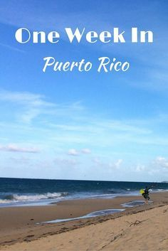 A guide map a one week in Puerto Rico. An itinerary on where to stay, what to do and where to eat and drink around the island. Things to do in Puerto Rico.