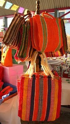 Bolsas de ixtle, Temixco, Morelos, México.