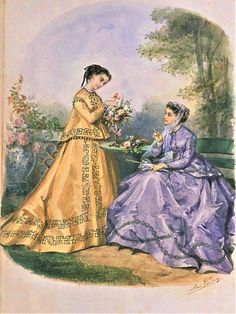 Civil War Fashion, Old Photographs, Vintage Gowns, Fashion Plates, Victorian Fashion, Fasion, Silhouette, Costumes, Disney Characters