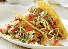 Chicken Tacos With Cucumber Salsa Recipe