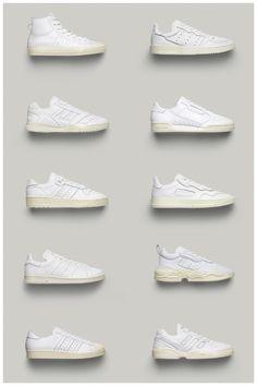 """Adidas Originals presenta """"Home of Classics"""", las zapatillas más clásicas de la marca vuelven renovadas (y molan mucho) White Sneakers, Shoes Sneakers, Shoe City, Clean Shoes, Cute Socks, Shoes Outlet, Sneakers Fashion, Nike Air Max, Footwear"""