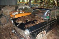 Les voitures du cimetière automobile de Kaufdorf aux enchères