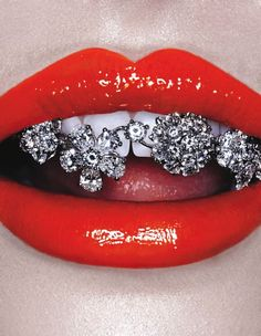 Grillz by Christian Ferretti for Interview
