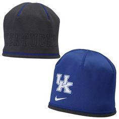 huge discount 04d91 62a19 Nike Kentucky Wildcats Royal Blue Training Reversible Performance Beanie
