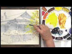 Watercolor Without Boundaries with Karlyn Holman, Part 1 - YouTube