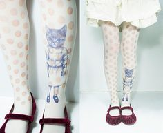 In LOVE!  Kitty Tights...