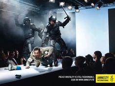Campagna di Amnesty Francia contro la violenza della polizia